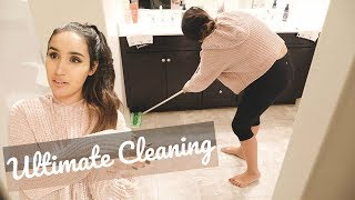 ULTIMATE CLEAN WITH ME || AFTER DARK CLEANING MOTIVATION 2018