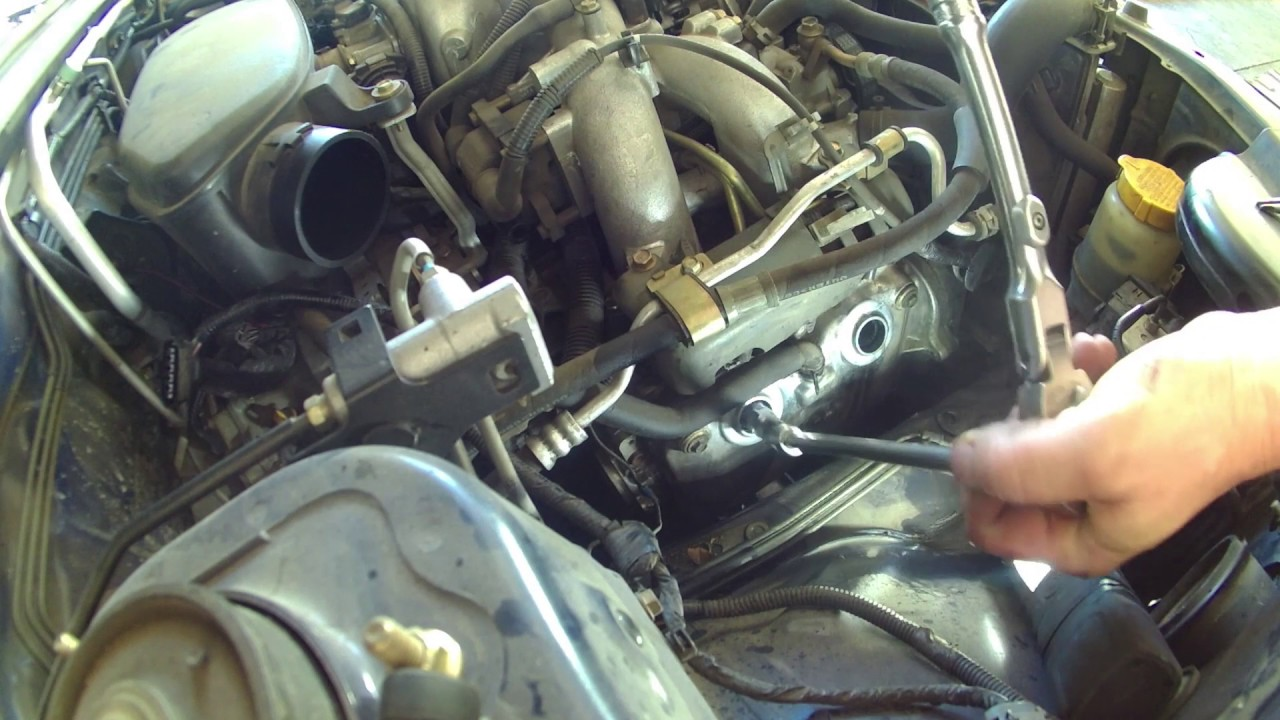 spark plug replacement 2005 subaru forester tune up how to change spark plugs [ 1280 x 720 Pixel ]
