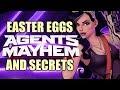 Saints Row AGENTS OF MAYHEM All Easter Eggs And Secrets HD mp3