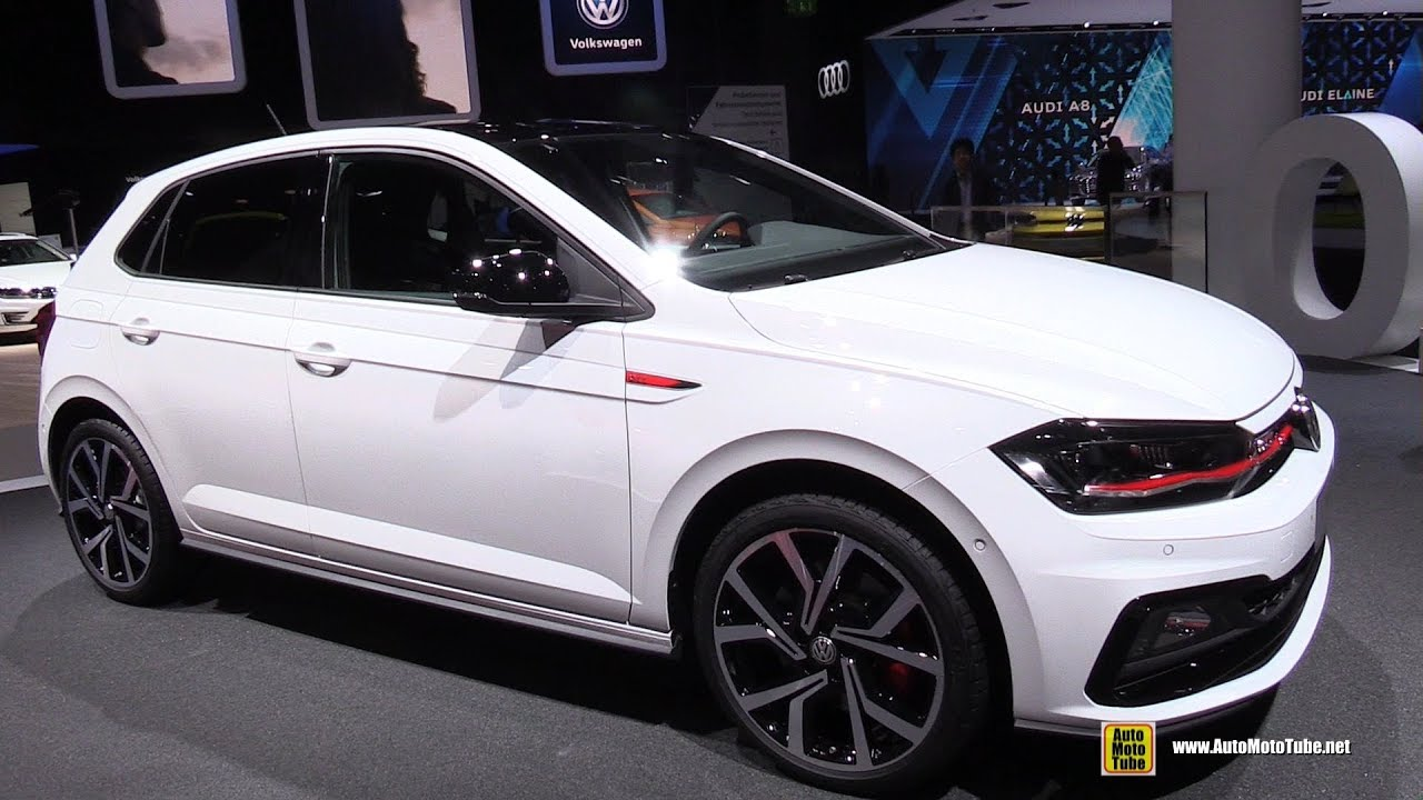 2018 volkswagen polo gti exterior and interior walkaround debut at 2017 frankfurt auto show. Black Bedroom Furniture Sets. Home Design Ideas