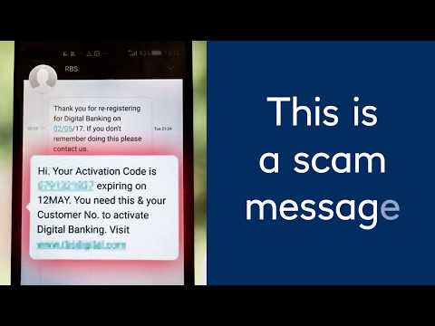 How To Spot A Scam Text Message
