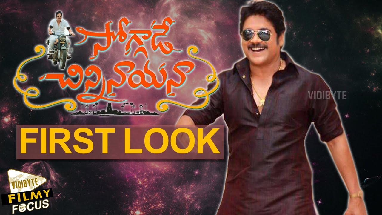 Soggade Chinni Nayana Movie First Look Poster Nagarjuna Ramya Krishnan Lavanya Tripathi