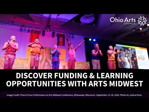 Discover Funding & Learning Opportunities with Arts Midwest
