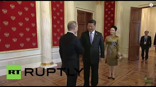 Russia: World leaders greeted by Putin in Moscow ahead of V-Day parade
