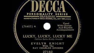 One Of The 1950s Hits, Lucky Lucky Lucky Me, Evelyn Knight Video