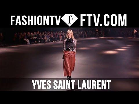 Yves Saint Laurent F/W 16-17 Runway Show in Los Angeles | FTV.com
