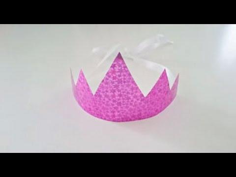 Bricolage Anniversaire Fabriquer Un Diadème De Princesse