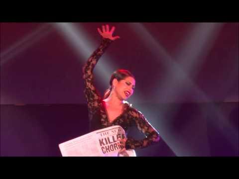 Bianca Marroquin singing Chicago's Roxie (Chicago Manila)
