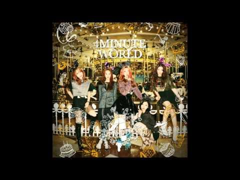 01. 4Minute (포미닛) - Wait A Minute [4Minute - 4Minute World (5th Mini Album)]