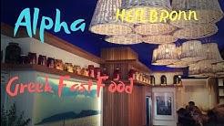 Heilbronn Alpha Greek Fast Food - Neueröffnung griechisches Restaurant 2020 Kilianskirche