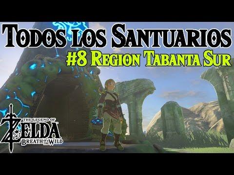 Todos los Santuarios de Zelda Breath of the Wild #8 | Region Tabanta Sur