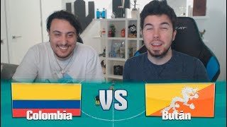 COLOMBIA VS BUTÁN! LIGA KOPANITOS #6