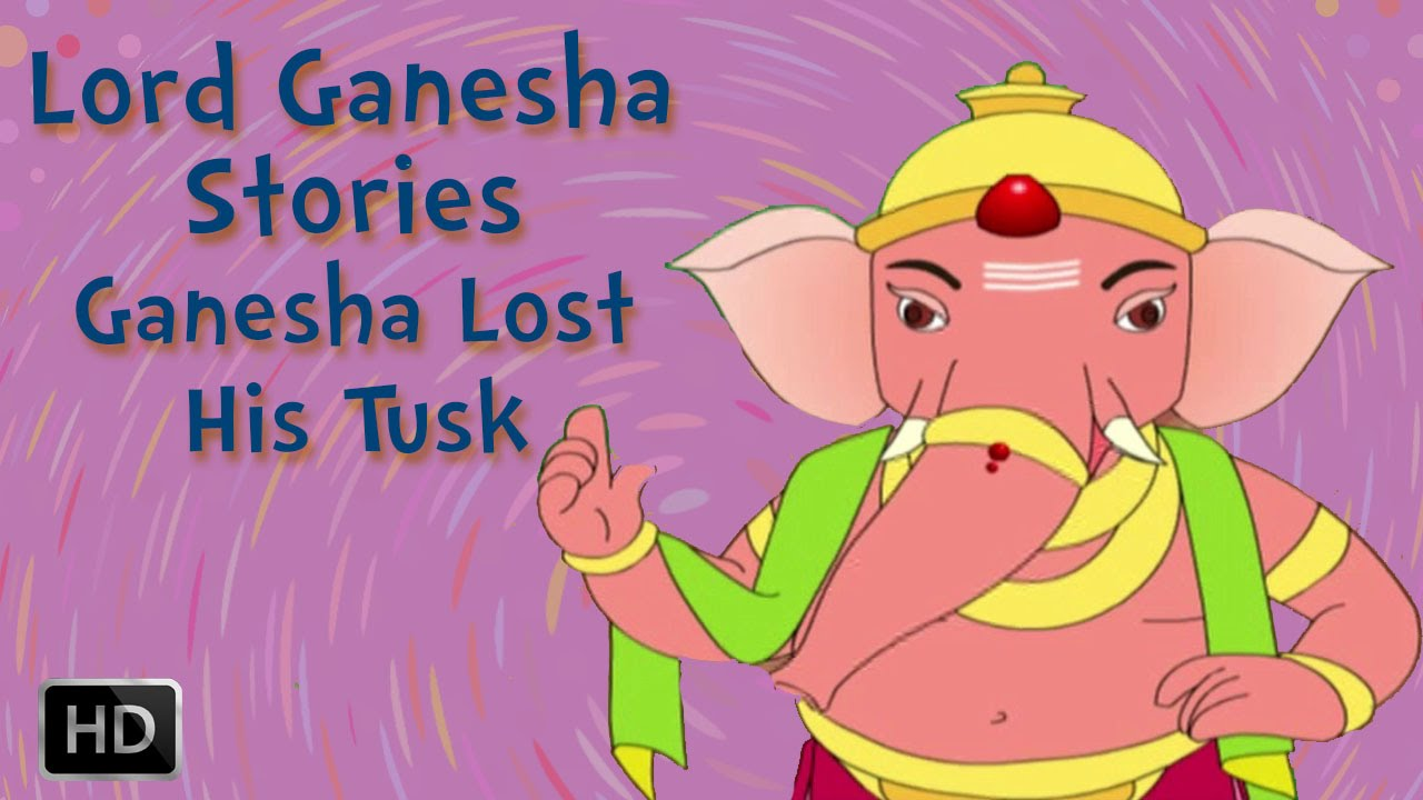 Lord Ganesha Stories How Ganesha Lost His Tusk Youtube