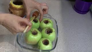 яблочный спас запекаю яблоки в духовке