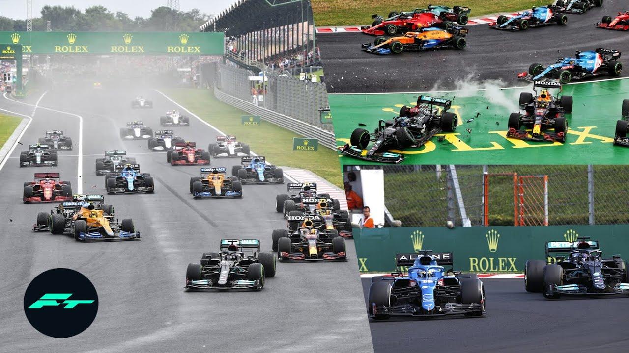 RESUMEN CARRERA GP de HUNGRIA F1 2021 – LOCURA TOTAL en la PIFIA de MERCEDES y el ALONSO vs HAMILTON