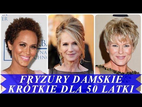 Trendy Fryzury Damskie Krótkie Dla 50 Latki 2018