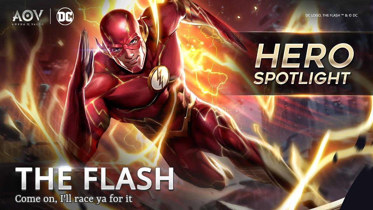 The Flash Hero Spotlight Garena Aov Arena Of Valor