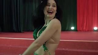 Alina Kudinova Belly dance - محمود الليثي - كده مطمرش