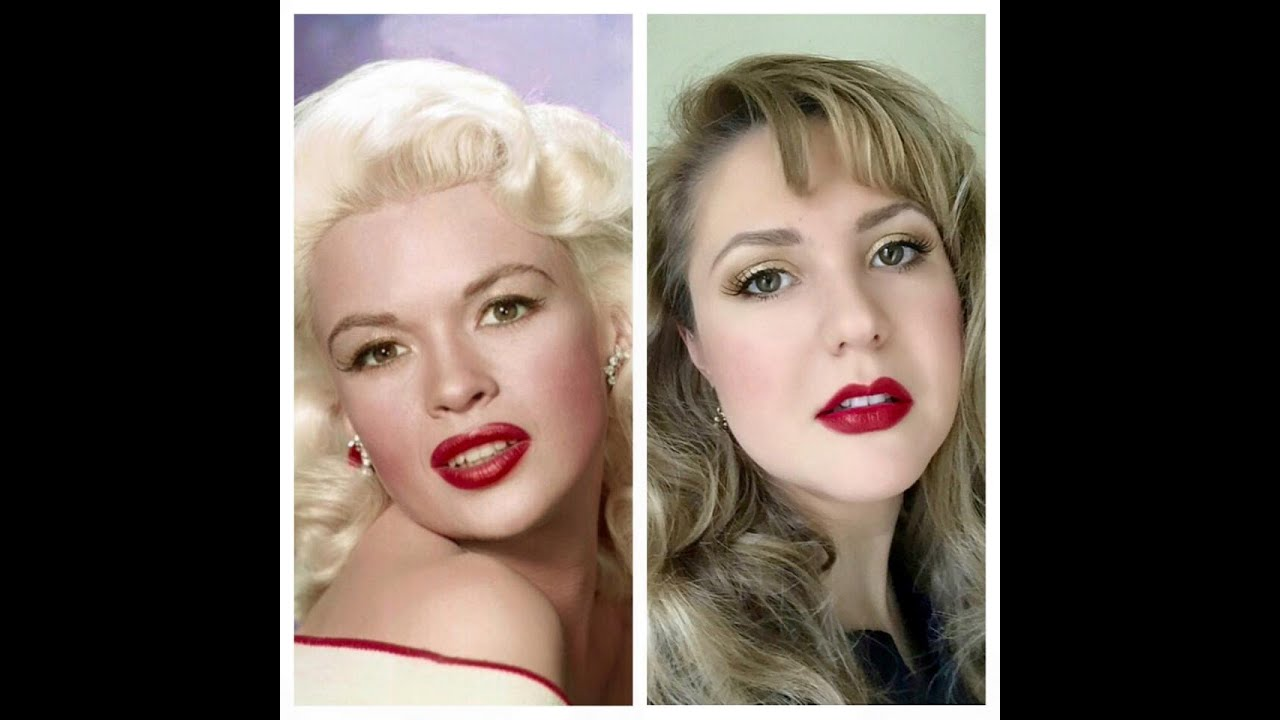 Jayne Mansfield Makeup Tutorial Audrey Copping Youtube