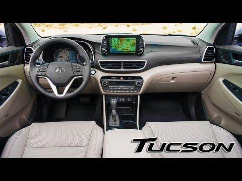 2019 Hyundai Tucson INTERIOR - YouTube