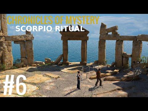 Chronicles of Mystery: The Scorpio Ritual Walkthrough part 6  