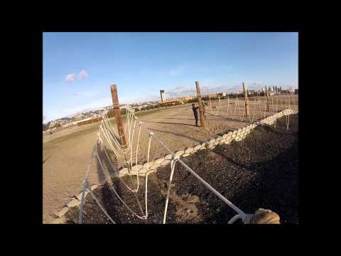 Helmet Cam video of Bayonet Assault Course at MCRD San Diego
