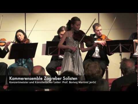 """Peter IljitschTschaikowski: """"Souvenir d'un lieu cher"""" op. 42, 2. Scherzo, Noa Wildschut"""