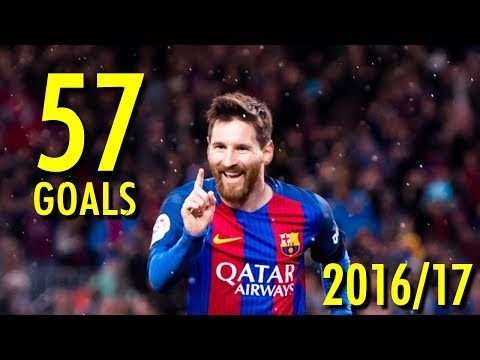 Lionel Messi - All 57 Goals in 2016/17 - Golden Boot Winner (HD)