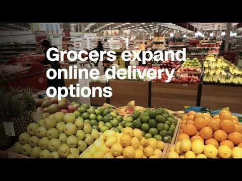 Here's how your online grocery delivery options are ...