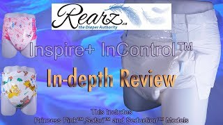 Rearz® Inspire+ InControl™ Nighttime Adult Diaper  In-Depth Review #adultdiaper #incontinence