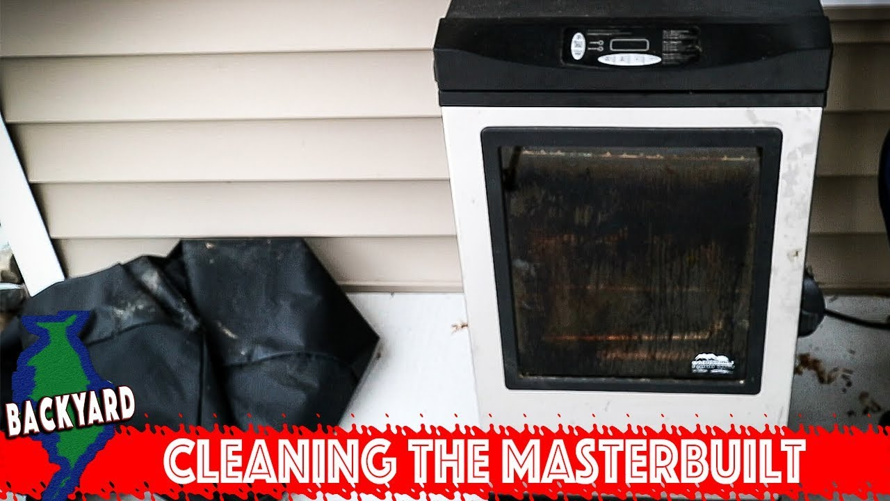 How To Clean The Masterbuilt Electric Smoker Youtube