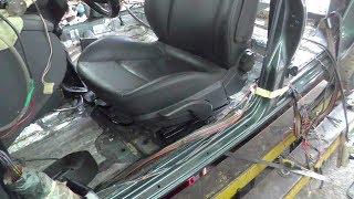 Установка иномарочных сидений  в ВАЗ 2115.