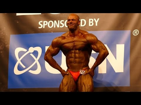 Tony Ellett - Competitor No 70 - Class 1 - NABBA Universe 2014