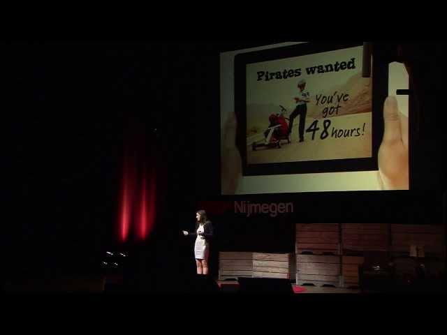 Be a pirate - Kim Spinder at TEDxNijmegen 2013