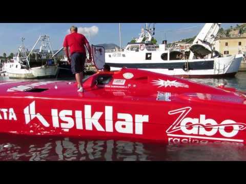 Class 1 Offshore racing Terracina Italy Oktober 2013