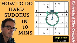 How To Do Hąrd Sudokus In 10 Minutes