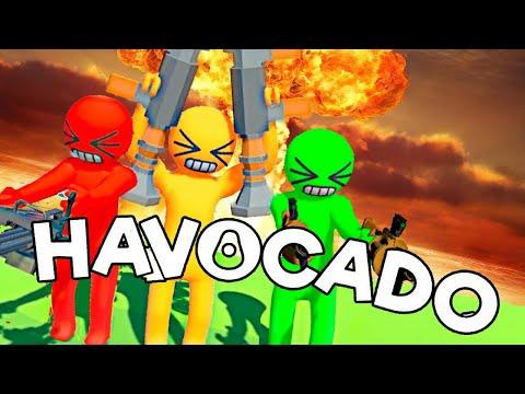 DESMADRE Y AL AGUA   HAVOCADO c/ None, Zellen y OwOl