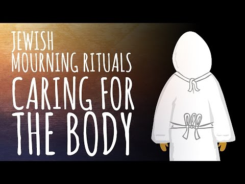 Jewish Mourning Rituals: Caring for the Body