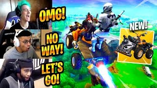 STREAMERS REACT TO/USE *NEW* QUADCRASHER (GAMEPLAY) - Fortnite Funny Moments #188