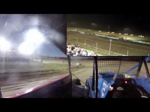 Dayton Brewer Heat and Feature Win | Woodhull Raceway 6-3-17