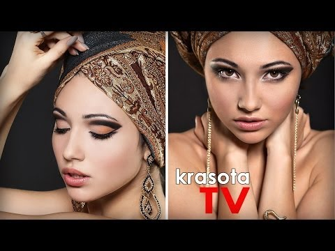 видео макияж арабский - video-surfru