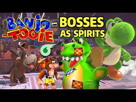 What if Banjo-Tooie&39;s Bosses were Spirits in Super Smash Bros Ultimate?