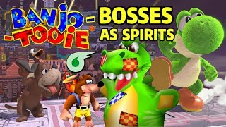 What if Banjo-Tooie's Bosses were Spirits in Super Smash Bros. Ultimate?