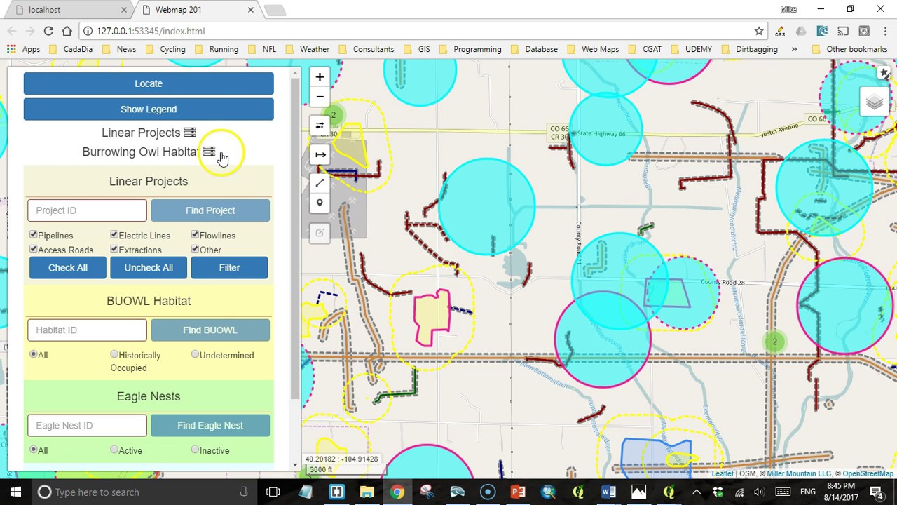 Adding Legends to your Leaflet Web Map - Geospatial