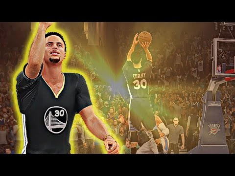 NBA 2K16 - Steph Curry Game Winning Shot vs OKC