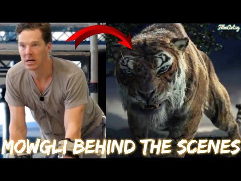 Mowgli Behind the Scenes and BRoll  2018 Benedict Cumberbatch Movie
