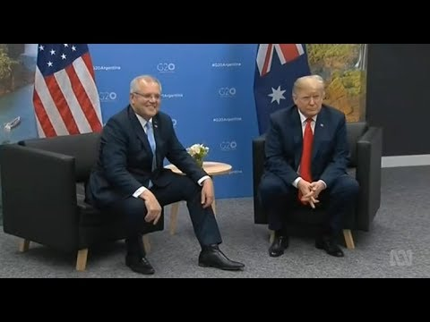When Scott Morrison met Donald Trump at the G20