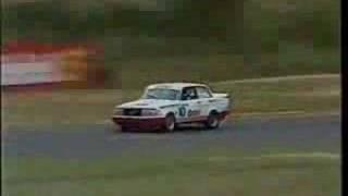 1986 Racing Volvo Car in Australian Touring Serie.