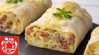 Закуска из лаваша 😋👍 Бесподобный рецепт из доступных продуктов!