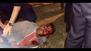 Student Brutalized By State Officials Outside Bar